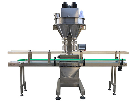Automatic Auger Bottle Filling Machine-SP-L12W-M